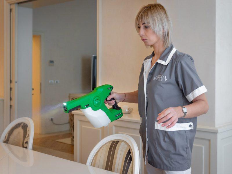 sanificazione valery modo service